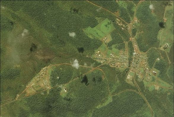 Bamaga aerial view