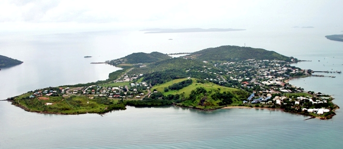 Thursday Island Aerial View 2