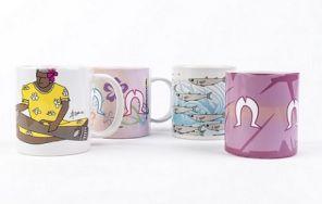 Zaro Cultural Gallery Mugs
