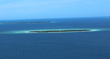 Islands between Ugar and Poruma Jan 2013
