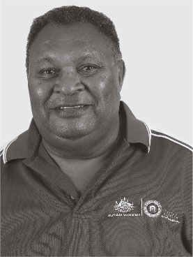 photo of MR NAPAU PEDRO STEPHEN AM, CHAIRPERSON AND MEMBER FOR PORT KENNEDY
