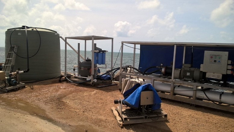 Mobile Desalination Unit