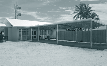 A photograph of Mabuyag Community Hall