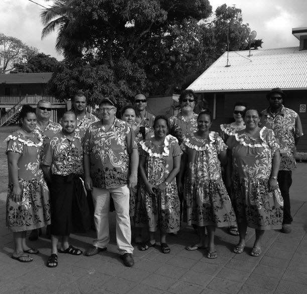 a photograph of TSRA Staff at Mabo Day on Mer