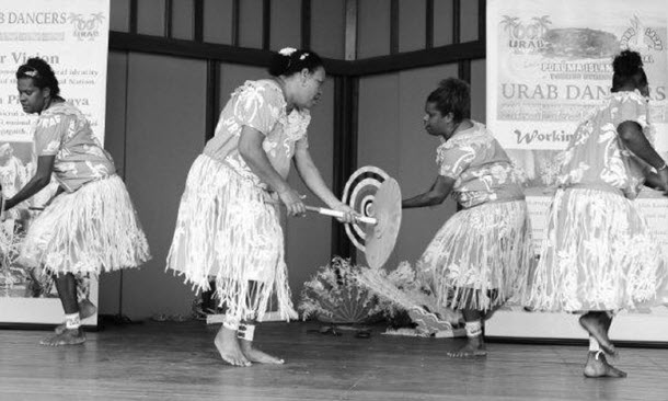 a photograph of Urab Ladies dancing at the Kulkalgal Determination