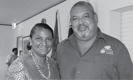 a photograph of TSRA Chairperson and Senator Nova Peris