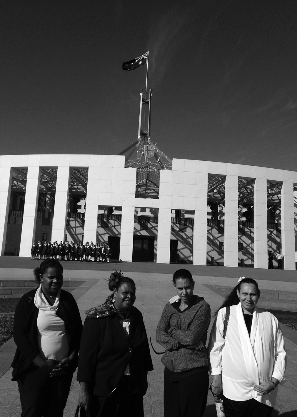 a photograph of participants in the TSRA's inaugural Women's Leadership Programme at Parliament House, Canberra