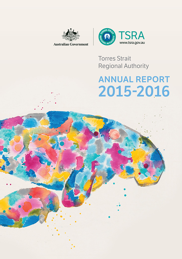 a photograph of TSRA Annual report 2015-2016