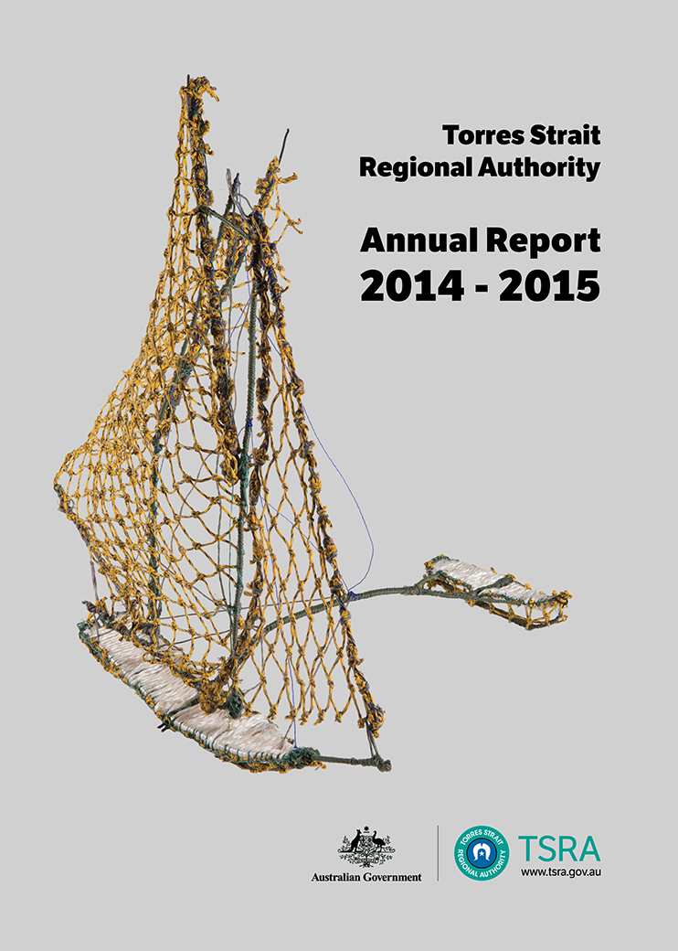 a photograph of TSRA Annual report 2014-2015